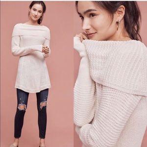 NEW! Anthropologie Rosie Cowlneck Sweater!